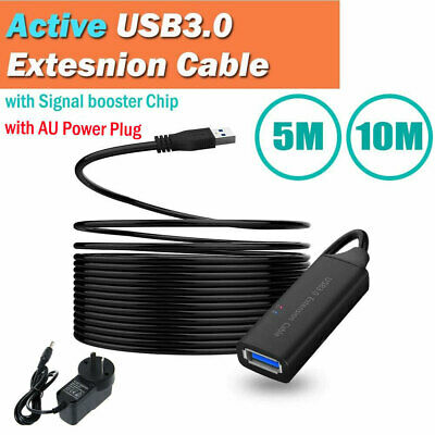 AU23.99 • Buy 5/10m USB 3.0 Extension Extender Cable Type A Male To Female 5.0Gps AU Plug VIC