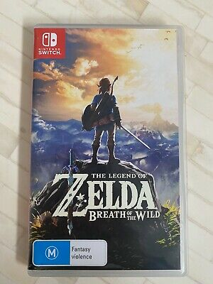AU58.99 • Buy The Legend Of Zelda: Breath Of The Wild For Nintendo Switch (Game Is Like New)