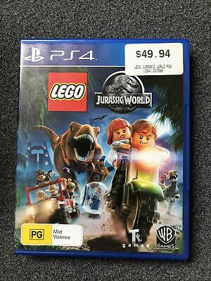 AU24.95 • Buy Lego Jurassic World - Playstation 4 - PS4 - Action Game - Free Postage - Used
