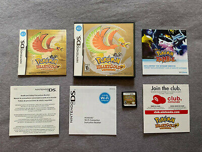 $92 • Buy Pokemon: HeartGold Version (DS, 2010) Complete In Box, Tested, Authentic
