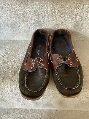 £24.99 • Buy Sperry Top Sider Men's Boat Shoes Blue Tan Leather UK10 US11