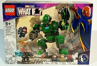 £34.50 • Buy Lego 76201 Captain Carter & The Hydra Stomper - Marvel Studios What If - 6345870