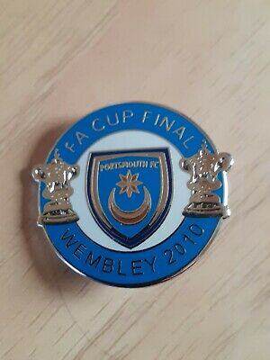 £1.99 • Buy Portsmouth Fc Fa Cup Final Wembley 2010 Badge