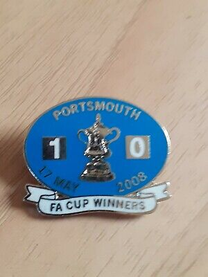 £1.99 • Buy Portsmouth Fc Fa Cup Winners Badge 2008