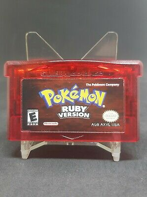 $60 • Buy Pokemon Ruby Version Gameboy Advanced  Authentic/Tested And Works/Dry Battery...