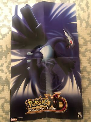 $50 • Buy Pokemon XD Gale Of Darkness {{ Poster Insert Only }} - Nintendo Gamecube MINT