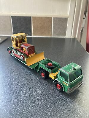 £13.95 • Buy Matchbox Lesney Ford Dyson Low Loader And Case Tractor