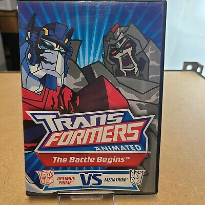 £3.65 • Buy Transformers Animated The Battle Begins 60% OFF 4+ DVD $2 Each
