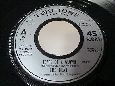 £1.99 • Buy The Beat Tears Of A Clown Jukebox Single Two Tone Label