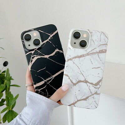 AU6.89 • Buy For IPhone 13 12 11 Pro Max XS XR 8 7 SE Marble Texture Silicone Soft Case Cover