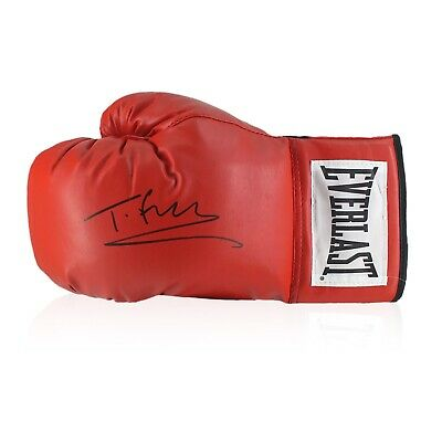 AU468 • Buy Tyson Fury Signed Red Boxing Glove | Autographed Memorabilia