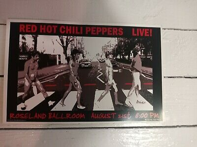 $10 • Buy Red Hot Chili Peppers Concert Poster 11x17