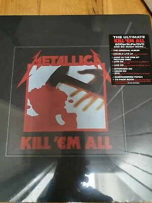 £200 • Buy .metallica Kill Em All Vinyl, Dvd And Cd Boxset.  Unplayed And In Mint Condition