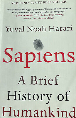AU18.18 • Buy Sapiens : A Brief History Of Humankind (2015, Hardcover) By Yuval Noah Harari