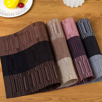 AU5.13 • Buy Washable Table Mat PVC Placemat Non-Slip Placemat Easy Clean Dining Table Mat AA