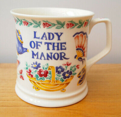£14.99 • Buy Lady Of The Manor - Past Times - 7945 - Fine Bone China Mug - Made In England