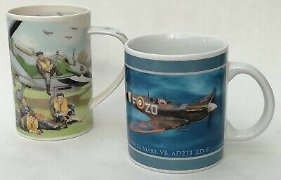 £15.99 • Buy Dunoon & Past Times Spitfire Plane RAF WWII Ceramic Mugs