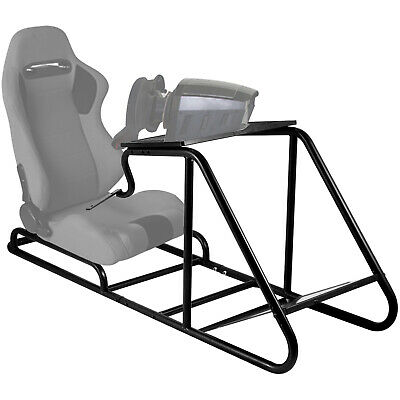 £93.99 • Buy Racing Simulator Cockpit Steering Wheel Stand For PS3 Driving Black Console