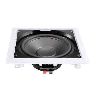£29.99 • Buy E-Audio B415 90W Ceiling Subwoofer, Water-Resistant For Kitchens & Bathrooms