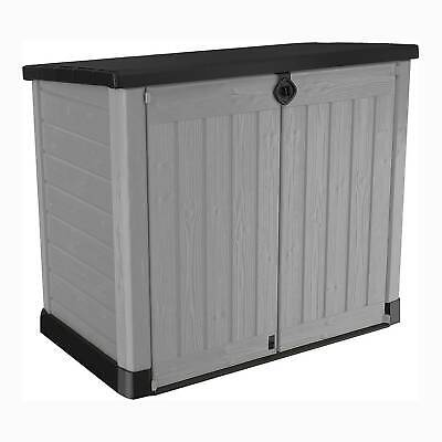 £160 • Buy Keter Store It Out Ace Plastic Outdoor Garden Storage Shed 1200L - Grey - 495712