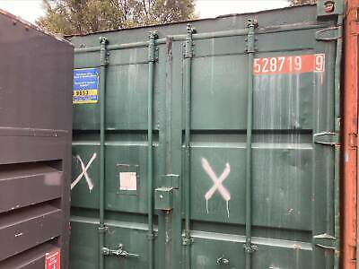 AU2000 • Buy Green 20 FT Shipping Container With Fan Inside