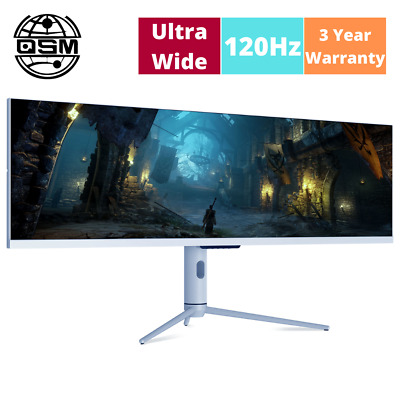 AU760 • Buy QSM 44  DFHD 120Hz IPS 32:9 Ultrawide HDR Gaming And Office Monitor (3840x1080)