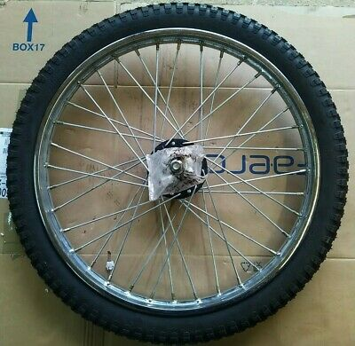 £30 • Buy Motorcycle 21  Wheel Spoked With Tyre 21x1.40
