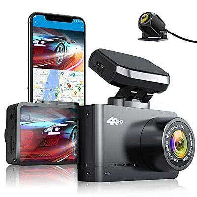 AU262.16 • Buy AUTOWOEL 4K Dash Cam Front And Rear With WiFi & GPS Dual Dash Cam Motion Dete...