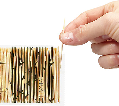 £5.39 • Buy Wooden Toothpicks: 1000 Premium Bamboo Tooth Picks For Dental Care – Wooden Toot