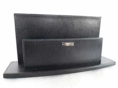 AU203.60 • Buy S.T. Dupont Italy Paris France Office Paper Envelope Leather Organizer Tray