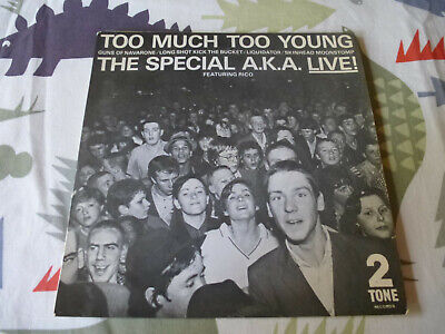 £6 • Buy The Special A.k.a. Too Much Too Young Live E.p. 1980 Two Tone 7  Vinyl Single