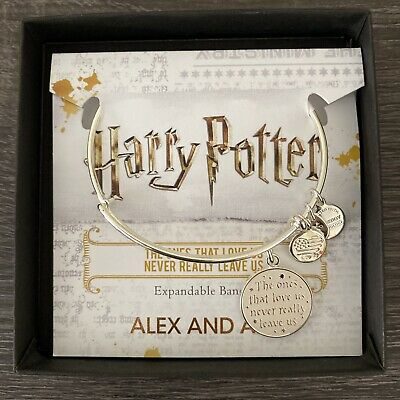 AU40.05 • Buy NWT ALEX AND ANI Harry Potter 'The Ones That Love Us' Charm Bangle W/ Gift Box