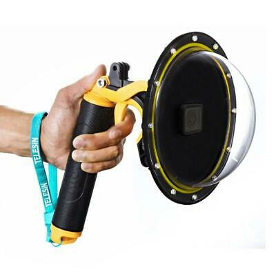 AU59.04 • Buy 1Set Underwater Diving Dome Port Lens Waterproof Case Protective Cover For Gopro