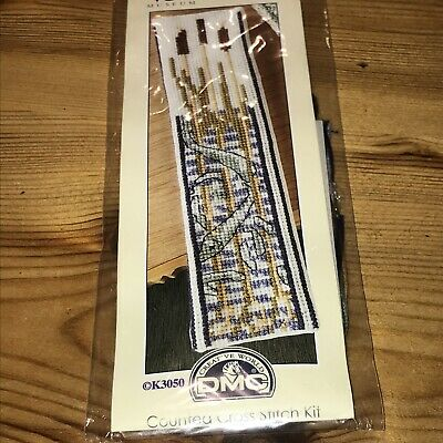 £7.45 • Buy UNOPENED DMC V&A COLLECTION 'FISH Amongst Reeds' BOOKMARK CROSS STITCH KIT