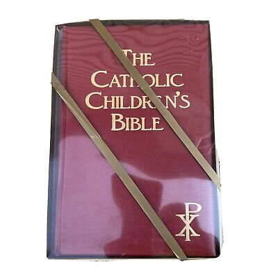 £6.49 • Buy The Catholic Children's Bible1983 Padded Hardcover Illustrated New Old Stock NOS