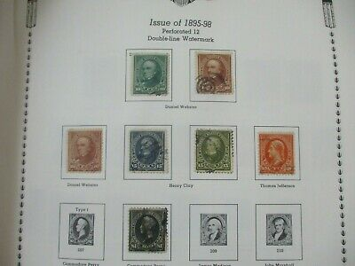 AU7 • Buy USA Stamps:  Sets On Pages Impressive   -  Must Have  (t390)