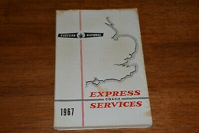 £12 • Buy 1967 Eastern National Express Coach Services Times & Fares Book Inc Map Ref T165