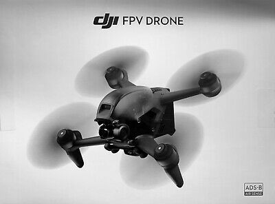 AU545.49 • Buy DJI FPV Drone, NEW (Drone & Props Only)