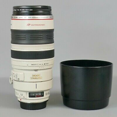 View Details CANON Zoom Lens EF 100-400mm F4.5-5.6 L IS Ultrasonic    |2 • 310£