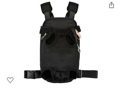 £5.60 • Buy Dog Carrier Front Pack New. Legs Out Front Facing Backpack 2Xl