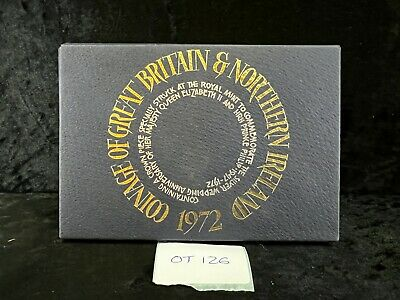 £16 • Buy Great Britain, 1972 Proof Coin Year Set In Royal Mint Case, OT126