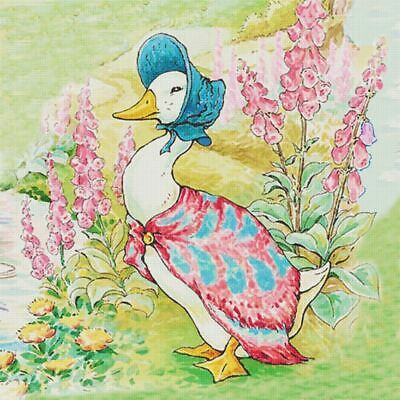 £6.53 • Buy Beatrix Potter Jemima Puddle Duck In Garden Counted Cross Stitch Pattern