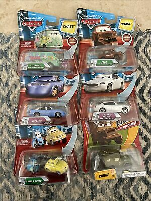 £13.41 • Buy 6 DISNEY CARS LOT Chase Look My Eyes Change Jay Limo Lenticular Luigi Guido Fred