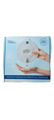 £45 • Buy Pivotell Advance Automatic Pill Dispenser With 28 Day Section Tray Set  Up Only