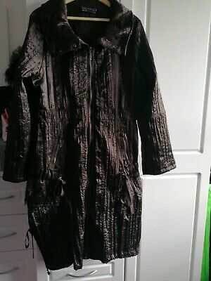 AU74.18 • Buy Gorgeous Brown Lagenlook Winter Coat, Size 20 From SAO Paulo. Excellent...