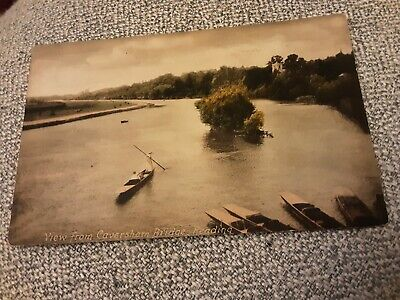 £1 • Buy Old Frith Postcard Of View From Caversham Bridge, Berkshire Posted 1920