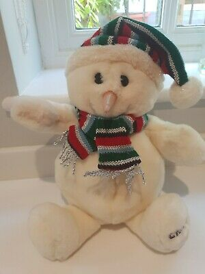 £14.40 • Buy Tesco Chilly And Friends Chilly Snowman Festive Plush 15  Vgc