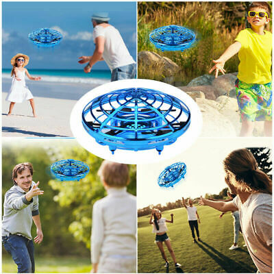 AU20.21 • Buy 360° Mini Drone UFO Aircraft Smart Hand Controlled For Kids Flying Toys RC Gift