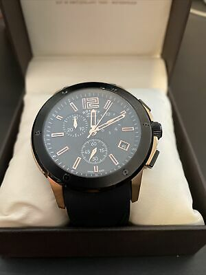 £120 • Buy R&Co Rotary Mens Chronograph Watch - New Rubber Strap No 01516
