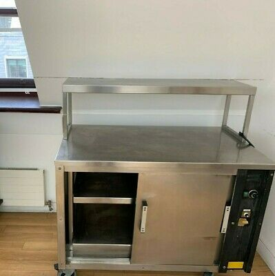 £500 • Buy Hot Holding Cabinet / Plate Warmer 2 Door With Heated Gantry